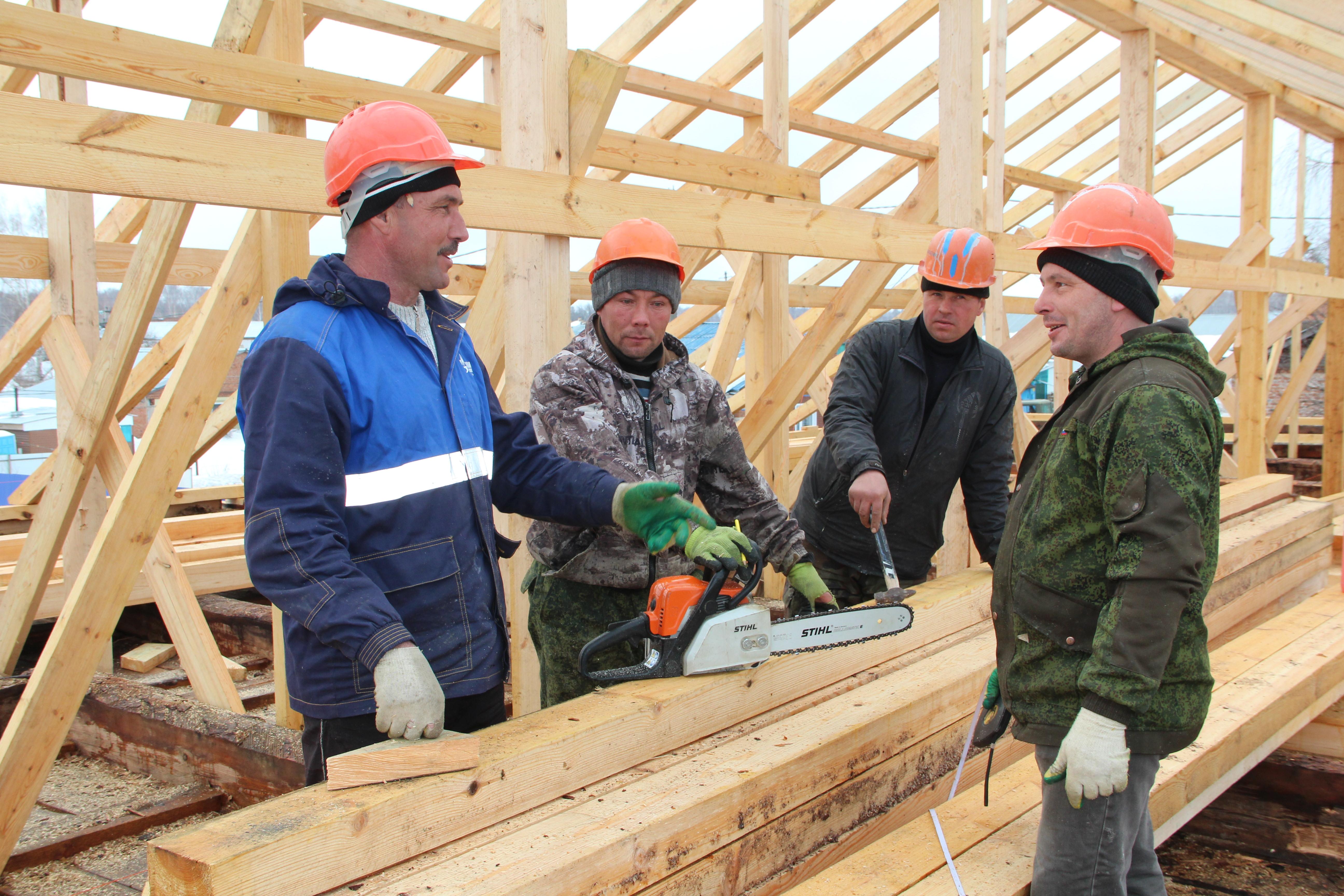 В Болгаре ведется капитальный ремонт детского сада «Антошка»