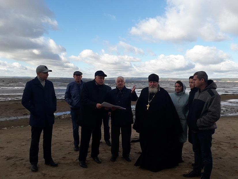 В селе Полянки Спасского района проведены берегоукрепительные работы