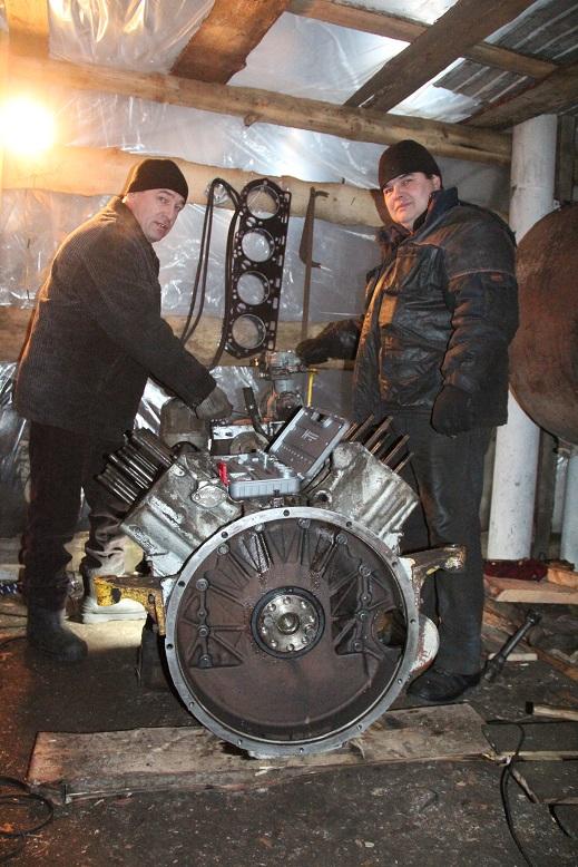 В хозяйстве Сергея Юркова Спасского района успешно ведется ремонт техники
