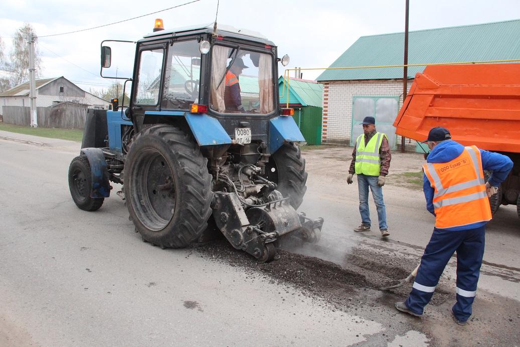 В Спасском районе начался ремонт дорог