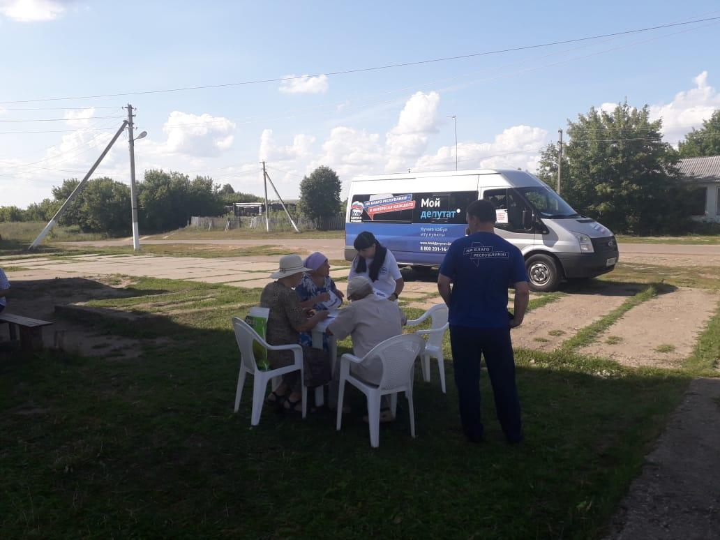 В Спасском районе работала мобильная приёмная «Единой России» (ФОТО)