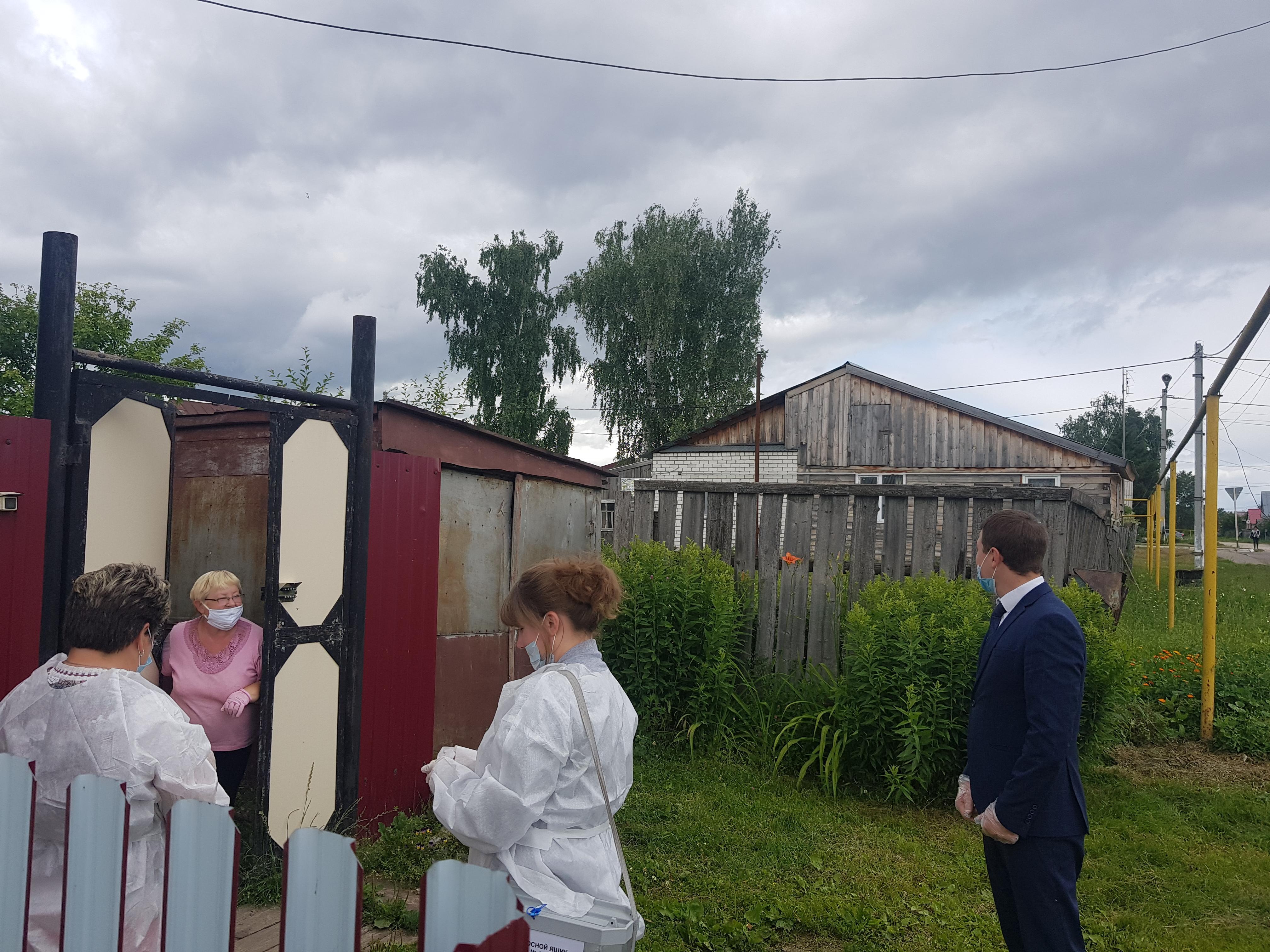 Узница фашистских концлагерей из Спасского района приняла участие в голосовании по поправкам к Конституции РФ