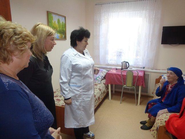 Жирновский интернат для престарелых и инвалидов